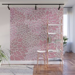 Floral Abstract 27 Wall Mural