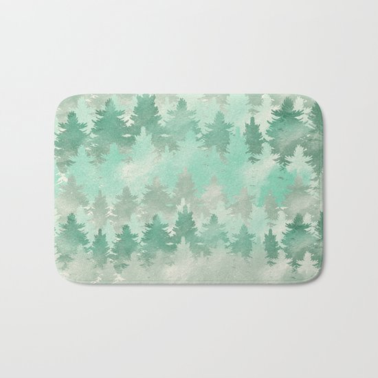 Meet Me In The Woods Bath Mat