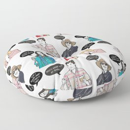 Southern Charmers Floor Pillow
