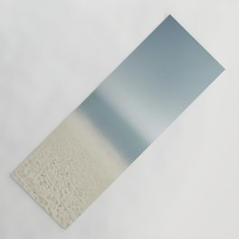 abstract prints on the sand Yoga Mat