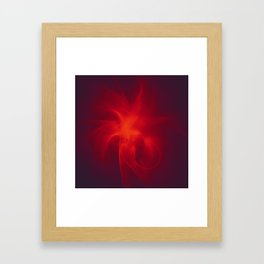 Flames Within Framed Art Print