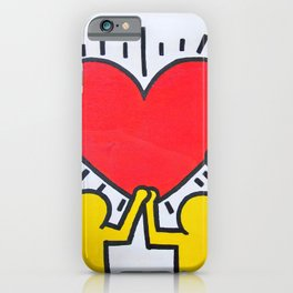 Keith Haring iPhone Case