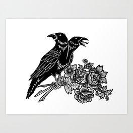 The Ravens Art Print