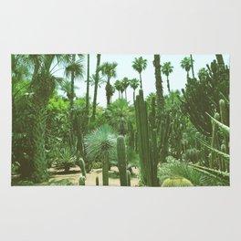Tropical Cacti Gardens Rug