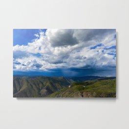 Stormy Mountains Metal Print