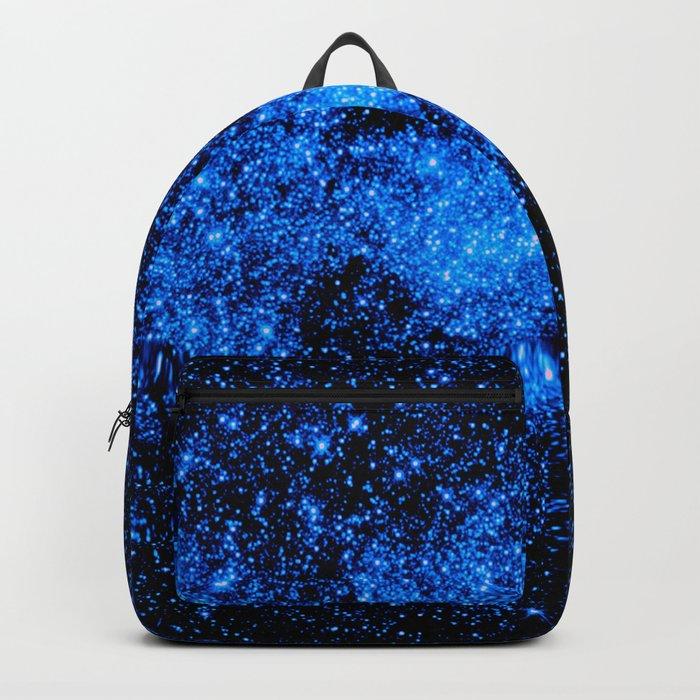 gALAXy Midnight Blue Stars Backpack