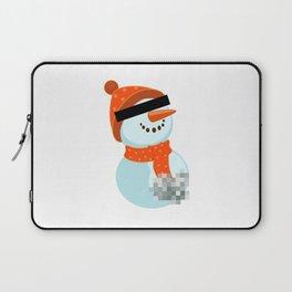 Dirty snowman Laptop Sleeve