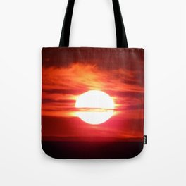 Fireball Above the Saint-Lawrence Tote Bag