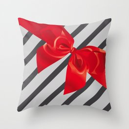 Gift wrapping Throw Pillow