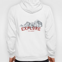 EXPLORE THE UNSEEN Hoody
