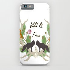 Wild and Free Fall Animals Slim Case iPhone 6s