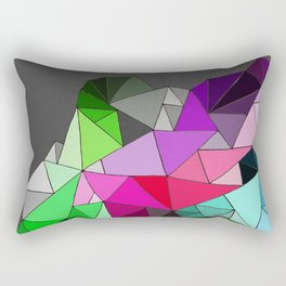 perfect colors in an imperfect configuration Rectangular Pillow