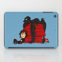 peanuts iPad Cases featuring Dragon Peanuts by le.duc