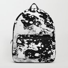 Black and White Grunge Design Backpack