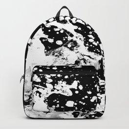 Black and White Grunge Design Backpack