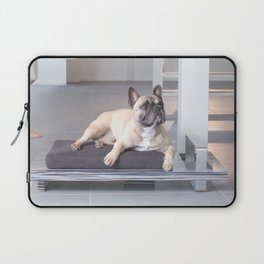 French Bulldog on Piedato Laptop Sleeve