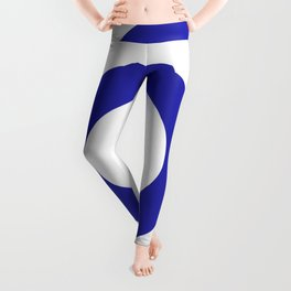 Target (Navy Blue & White Pattern) Leggings