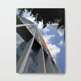 Colores de Bella Vista Building Metal Print