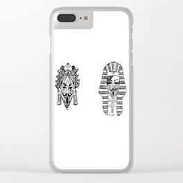 Anonymous - Egypt, Africa, China, Mexico Clear iPhone Case