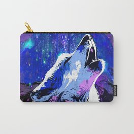 WOLF MOON AND SHOOTING STARS Carry-All Pouch