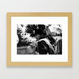Danza Framed Art Print