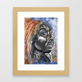 Darling, They Said Framed Art Print