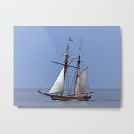 Tall ship Sailing the mighty Saint-Lawrence Metal Print