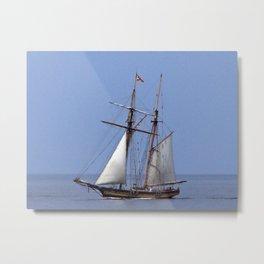 Tall ship Sailing the mighty Saint-Lawrence Metal Print
