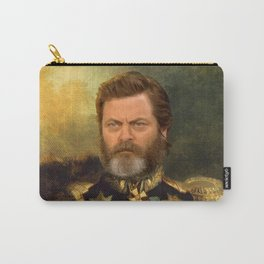 Nick Offerman Classical Painting Photoshop Carry-All Pouch