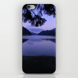 Ruth Lake early morning view iPhone Skin