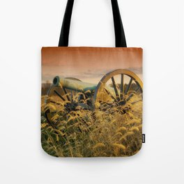 Antique Field Canon Tote Bag