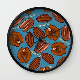 oh nuts! Wall Clock