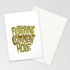 Festering Comment Hole Stationery Cards