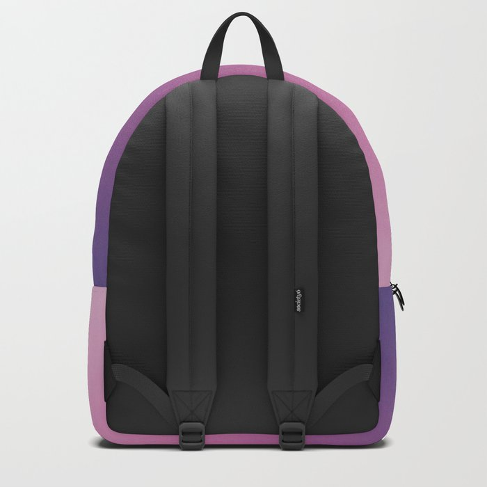 Pink Ultra Violet Ombre Gradient Pattern Backpack