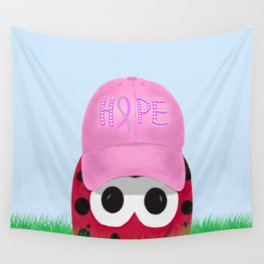 The Warrior Ladybug Wall Tapestry