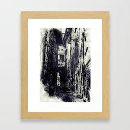 Italian village Framed Art Print
