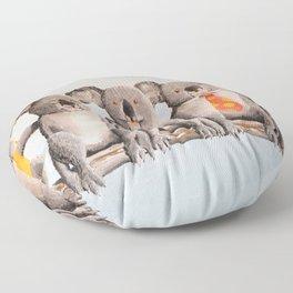 The Five Koalas Floor Pillow