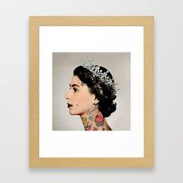 Rebel Queen Gerahmter Kunstdruck