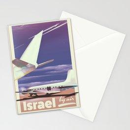 Israel 1977 vintage travel poster. Stationery Cards