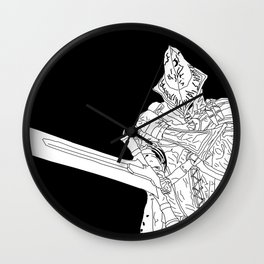 Abyss Watcher Wall Clock