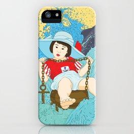 The Sailor Child iPhone Case