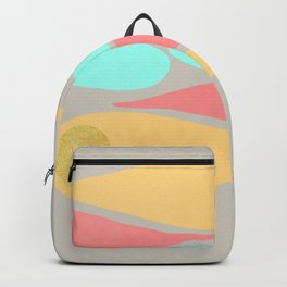 Vintage minimal improvisation 5 Backpack