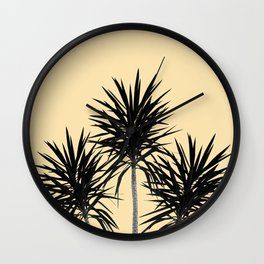 Palm Trees - Cali Summer Vibes #6 #decor #art #society6 Wall Clock