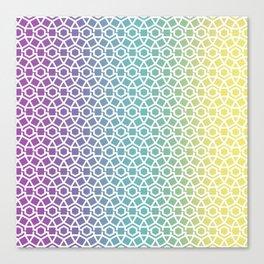 Gravity Tesselation Canvas Print