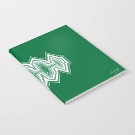 """I Love You"" Arabic Sound Wave Notebook"