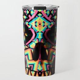 Fancy Skull Travel Mug