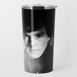 AMAZING SHERLOCK - BLACK & WHITE Travel Mug