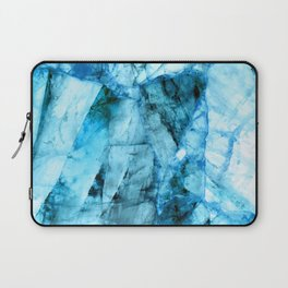 Blue crystal Laptop Sleeve