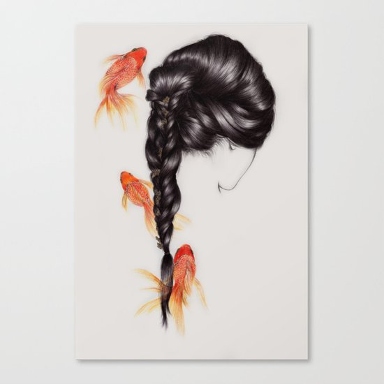 Hair Sequel III Canvas Print