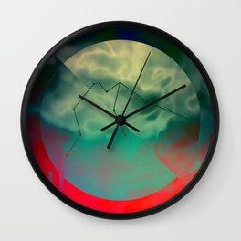 AQUARIUS (CIRCLE DESIGN) Wall Clock